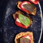 Grilled Eggplant Tomato Stacks