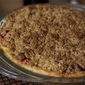 Cranberry-Pear Pie with Ginger Snap Crumb Topping