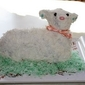 Lamb Cake for Easter