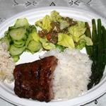 Barbecue Pork Ribs - Hawaiin style