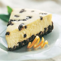 Drop Dead Chocolate Chip Cheesecake