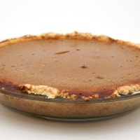 Roasted Pumpkin Pie with an Easy No-Roll Pie Crust