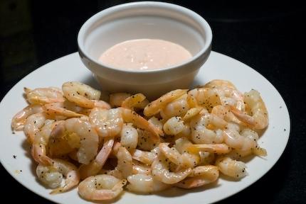 Roast Shrimp with Chili Mayonnaise