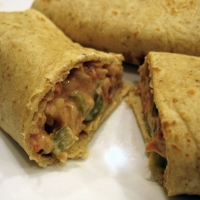 Flavorful Bean Burritos
