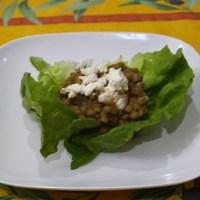 Lentil Salad with Chevre