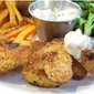 Baked Fish Sticks with Homemade Tartar Sauce