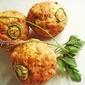 Eggless Savoury Cheese Corn Muffins