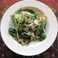 "Recipe: ""Signature"" spinach salad with goat cheese, almonds and grapes"
