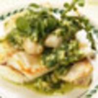 Snapper Macadamia Nut Pesto