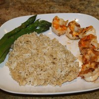 Garlic & Lemon Butter Shrimp