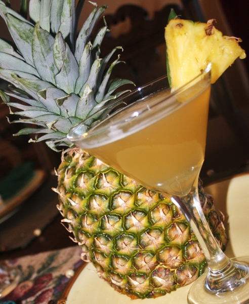 Perfect Pineapple Martini Recipe By Jackie
