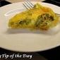 Recipe: Broccoli and Cheese Quiche