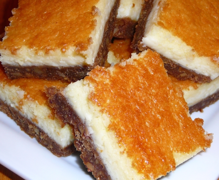 Vino Cotto (Vincotto) Cheesecake Bars