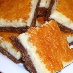 Vino Cotto (Vincotto) Cheesecake Bars