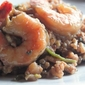 Red Wine Risotto with Shrimp