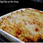 Recipe: Spinach & Cheese Baked Ziti