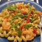 Quick and Easy Thai Coconut Curry Sauce with Shrimp and Pasta