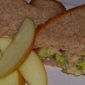 Delicious and Light Tuna Sandwich with Crispy Celery and Pickles