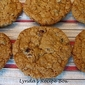 Chocolate-Chip Oatmeal Cookies with Pecans and Dried Cranberries (slightly adapted from Cook's Illustrated)