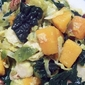 Brussel Sprouts and Kale with Butternut Squash
