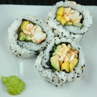 Lobster Hawaiian Sushi Rolls