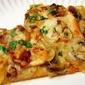 Bacon, Onion, and Mushroom Pizza