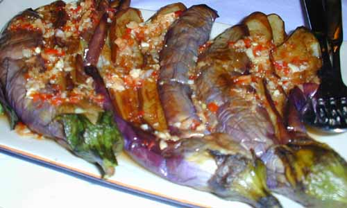 how to make sambal eggplant