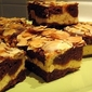 Cinnamon Cheesecake Choc Brownies