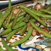Easy Chinese Green Beans with Pork