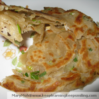 Chewy Chinese Scallion Pancakes