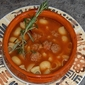 Super Bowl Sunday Soup - Sausage Soup with Rosemary & Ditalini