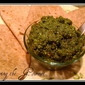 Pesto with Almonds
