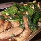 Stir Fried Chicken and Broccoli Rabe with Peanuts