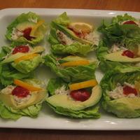Crab Salad in Lettuce Cups