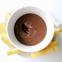 Nutella Cream Cheese Fruit Dip