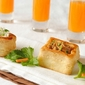 Peanut Butter and Celery Vol au Vents