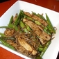 Pork Stir-Fry with Asparagus and Sugar Snap Peas