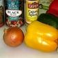 Cajun Seasoned Vegetarian Gumbo - An Award on the bottom