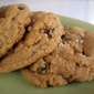 Sweet & Salty Peanut Butter Chocolate Chip Cookies