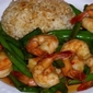 Rachael Ray's Sweet and Saucy Green Beans and Shrimp with Rice