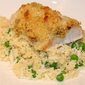 Quick & Easy Baked Fish with Peas and Couscous
