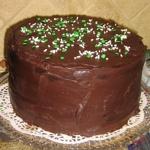 アイルランドのチョコレートケーキ
