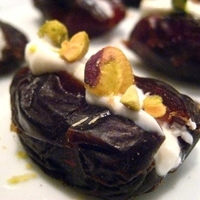 Greek Yogurt Stuffed Dates