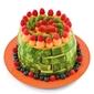 No-bake fruitcake with Marshmallows