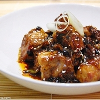 Spicy Pork with Black Beans