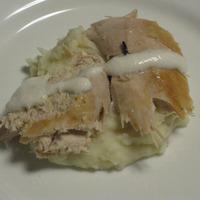 Non-salty Salt Baked Chicken