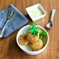 Fried Chickpea Patties With Sesame Seed Sauce – Revithokeftedes me Tahini Saltsa