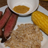 Grilled Steak with Israeli - North African BBQ Rub