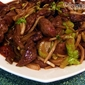 Stir fried sherry liver