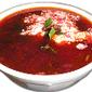 Borsh (una tipica sopa rusa de remolacha)
